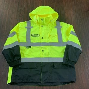 Radians RW30-3Z1Y Class 3 construction Rain Jacket